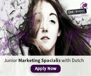 DNL - Junior Marketing Spacialis with Dutch