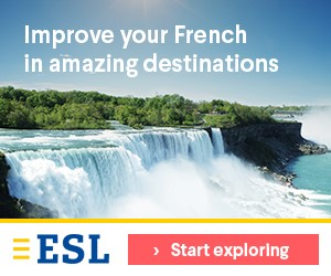 esl learn french in amazing destinations