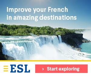 esl learn french in amazing destinations