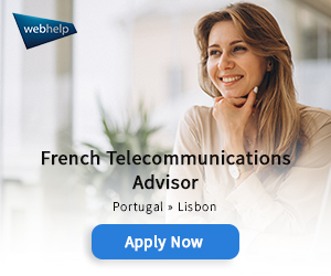 French Communications Advisor offer by Webhelp at Europe Language Jobs