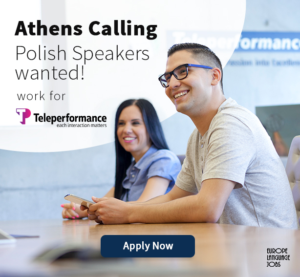 Teleperformance Hellas offer for Polish
