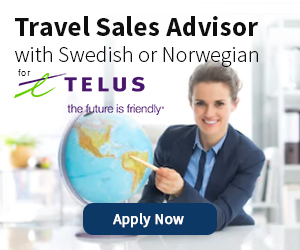 Travel Sales Advisor for Telus