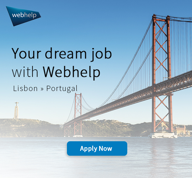 Webhelp job opportunities in Portugal